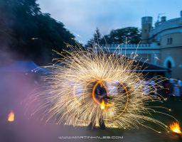Pyroterra Fire & Light show 6/2013