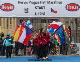 Hervis Prague Half Marathon 6/4/2013