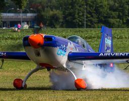 Switzerland Flugplatz Biel-Kappelen TAKE-OFF 6/2014