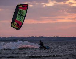 Polsko Rewa kiteboarding 7/2014